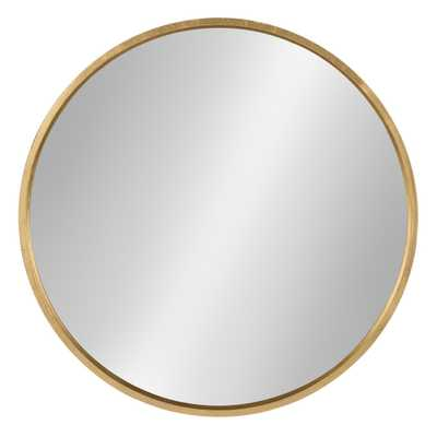 "Travis Round Mirror 25"" - Kate & Laurel - Target"