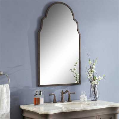 SHAPELY SILHOUETTE METAL MIRROR - Shades of Light