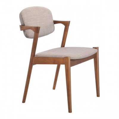 Brickell Dining Chair Dove Gray, Set of 2 - Zuri Studios