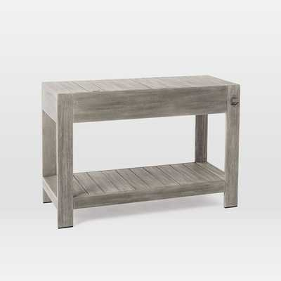 Portside Bar Cart / Weathered Gray - West Elm
