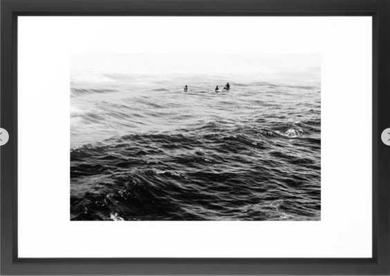 AMIDST Framed Art Print - Society6