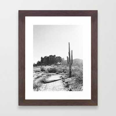 Arizona Desert Framed Art Print - Society6