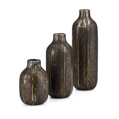 Isadora Vases - Set of 3 - Mercer Collection