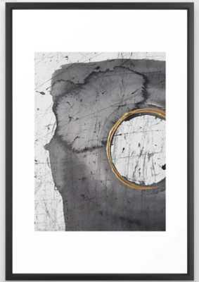 Golden circle1 Framed Art Print - Society6