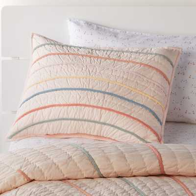 Sun Pink Sham - Crate and Barrel