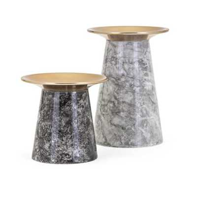 Paris Candleholders - Set of 2 - Mercer Collection