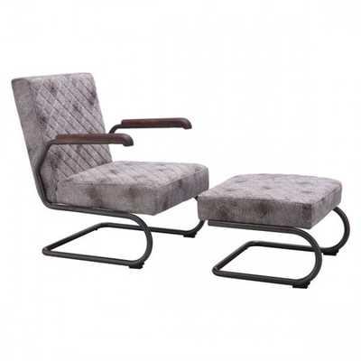 Father Lounge Chair Vintage White - Zuri Studios