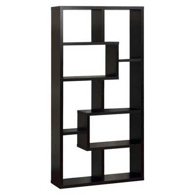 Highpoint Contoured Bookcase, Black - Target