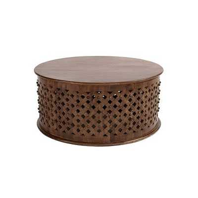 Bornova Coffee Table - Brown - Ballard Designs