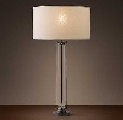 FLATIRON TABLE LAMP - BRONZE - RH