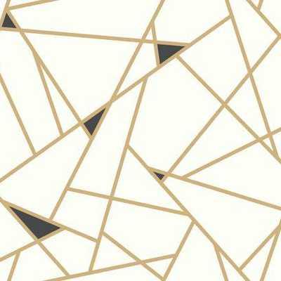 Prismatic Prepasted Wallpaper - York Wallcoverings