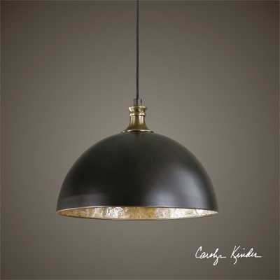 Placuna, 1 Lt Pendant - Hudsonhill Foundry