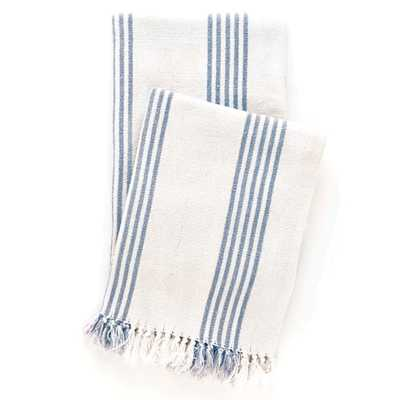 Ibiza French Blue Throw - Pine Cone Hill
