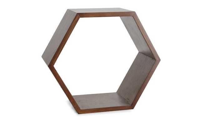 Adis Mid Century Modern Shelf - Walnut - 14w x 8d x 12h - Joybird