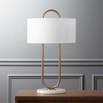 Warner table lamp - CB2