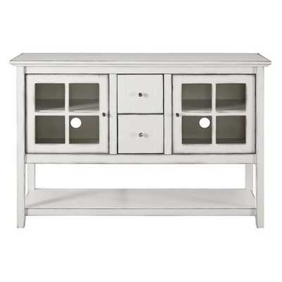 Walker Edison Wood 52 in. Console Table Buffet TV Stand - Hayneedle