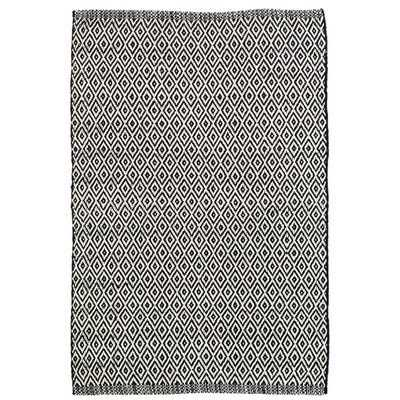 Crystal Black/White Indoor/Outdoor Area Rug - Dash and Albert