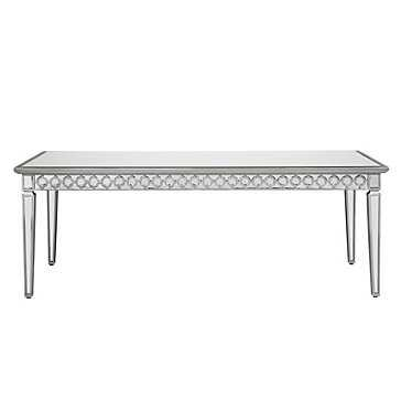 Sophie Mirrored Dining Table - Z Gallerie