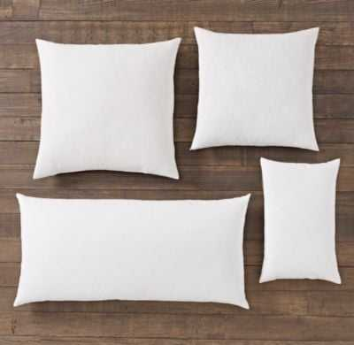 PREMIUM DOWN PILLOW INSERT - 22x22 - RH Modern