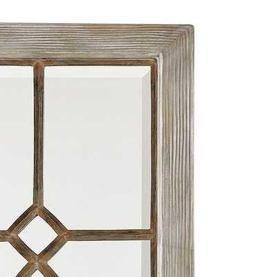 Garden District Mirror - Antique Gray - Ballard Designs