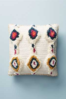 Ivory Tufted Ayla Pillow - Anthropologie