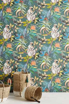 Canopy Creature Wallpaper - Anthropologie