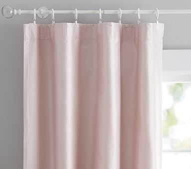"Monique Lhuillier Silk Panel, 44x96"" Blush Pink - Pottery Barn Kids"