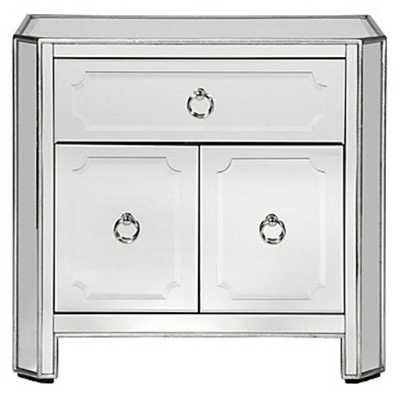Simplicity Mirrored Side Chest - Z Gallerie