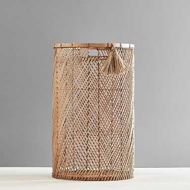 Diagonal Weave Basket,Catchall, Single - Pottery Barn Teen