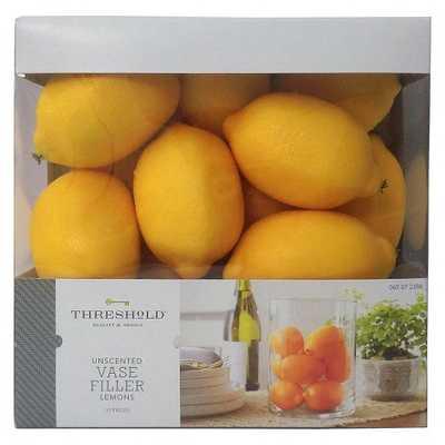 Vase Filler Lemons - Threshold™ - Target