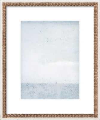"Overast - Soft Blues - FINAL FRAMED SIZE: 16x20"" - Artfully Walls"