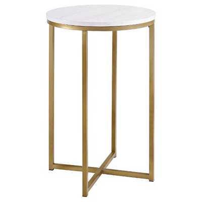 Marlton End Table Gold - Threshold™ - Target