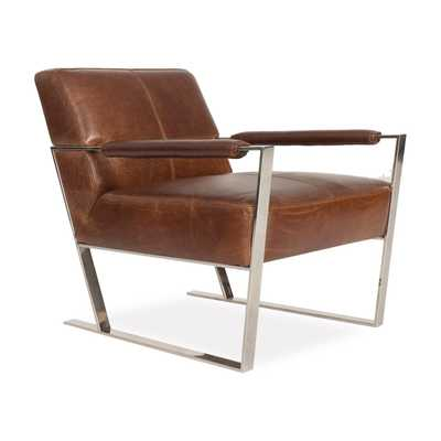 Darby Leather Chair COGNAC - Apt2B