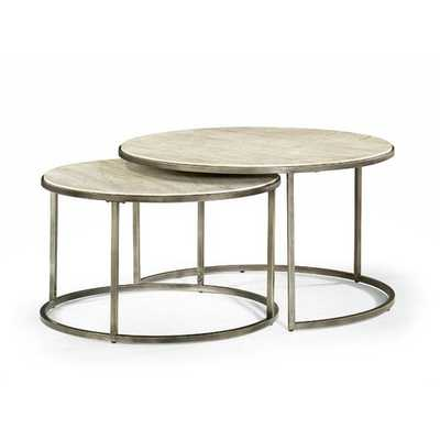 Masuda Nesting Coffee Table - Set of 2 - Wayfair