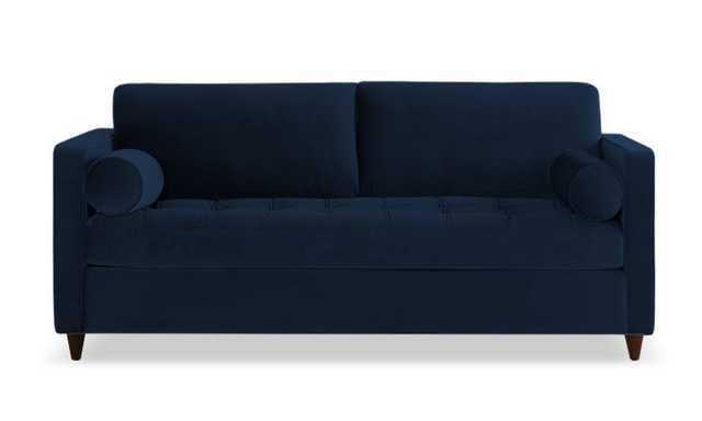 Blue Briar Mid Century Modern Sleeper Sofa - Royale Cobalt - Mocha - Joybird