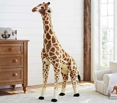 Jumbo Giraffe Plush - Pottery Barn Kids