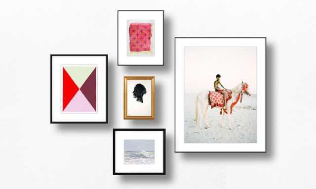 A Simple Gallery Wall Recipe - 5 piece - Artfully Walls