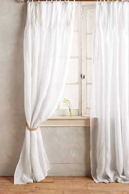 Pinch-Pleat Curtain - Anthropologie