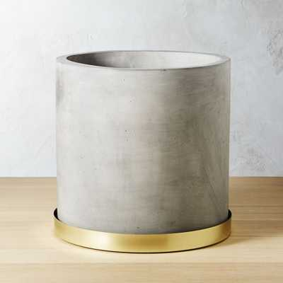 Moda cement planter - CB2