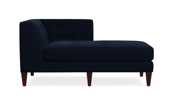 Aidan Right Arm Chaise Lounge - Crate and Barrel