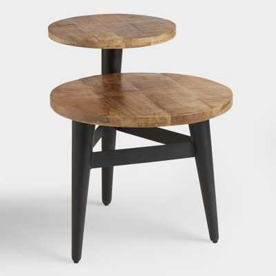 Wood and Metal Multi Level Accent Table by World Market - World Market/Cost Plus
