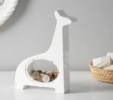 White Giraffe Bank - Pottery Barn Kids