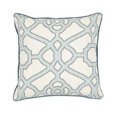 Ballard Designs Meyers Pillow Sky - Ballard Designs