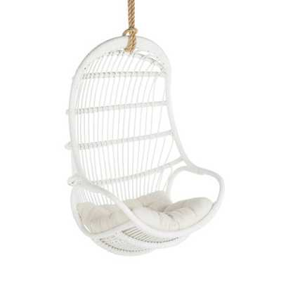 KOUBOO Hanging Rattan Swing Indoor Accent Chair - Hayneedle
