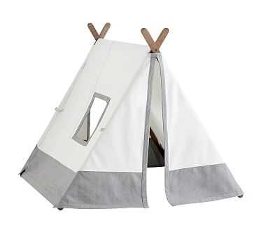 Gray A-frame Tent - Pottery Barn Kids