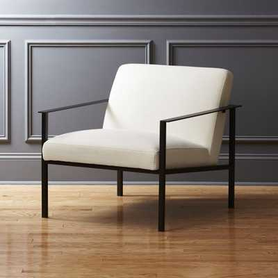 Cue Chair with Black Legs - CB2