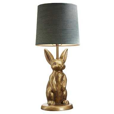 The Emily and Meritt Bunny Table Lamp & Shade - Pottery Barn Teen