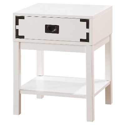 Campaign Nightstand White - Target
