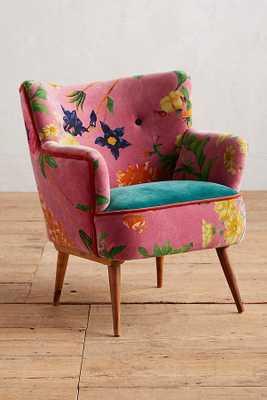 Floret Accent Chair - Anthropologie