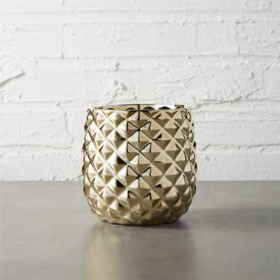 colada pineapple vase-planter - CB2